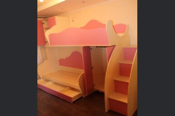чердак-кровать в детскую