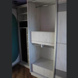 шкаф-купе цвет белое дерево
