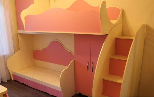 мебель в детскую розовая