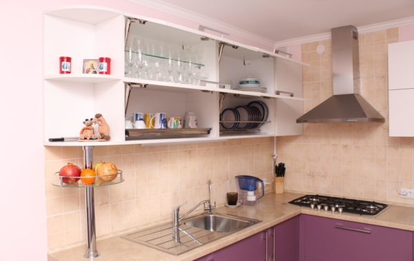 кухня подвесные шкафы