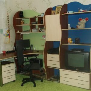 детская комплект мебели под заказ
