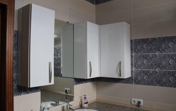 заказать шкафчики подвесные в ванную