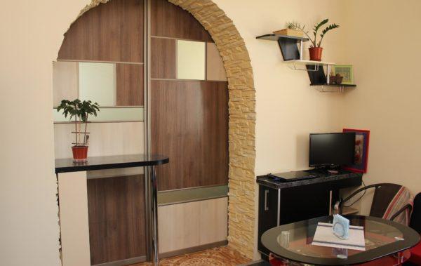 кухня раздвижные двери