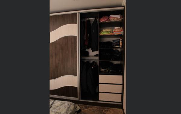 трехдверный шкаф-купе под заказ