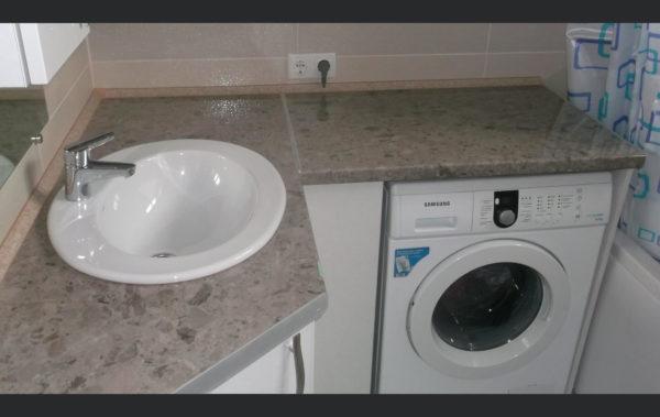 тумба в ванную с раковиной